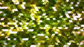 El centelleo de la difusión ajustó los triángulos de alta tecnología 03 libre illustration