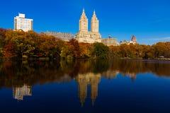 El Central Park en New York City Imagen de archivo libre de regalías