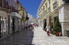 El centro comercial en Faro, Portugal Imagenes de archivo