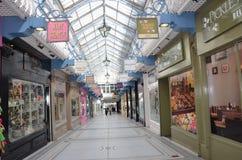 El centro comercial en Leeds Fotos de archivo
