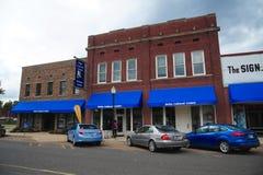 El centro cultural del delta en Helena, Arkansas Imagenes de archivo