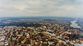 El centro de ciudad de Vinnytsia, Ucrania Fotografía de archivo