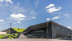 El centro de Conferencia Internacional Fotografía de archivo