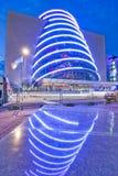 El centro de convención Dublín Imágenes de archivo libres de regalías