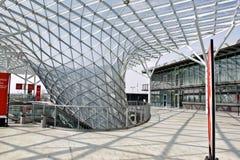 El centro de exposición de rho cerca de Milano, Italia Foto de archivo libre de regalías