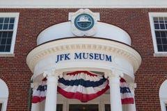El centro de John F Kennedy Hyannis Museum Fotos de archivo libres de regalías