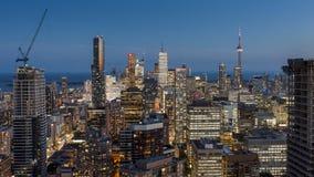 El centro de la ciudad de Toronto fotografía de archivo libre de regalías