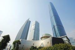 El centro de las finanzas internacionales de Guangzhou (GZIFC) fotos de archivo