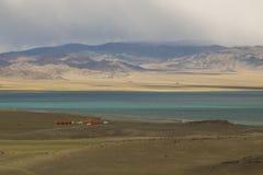 El centro de ocio en el lago Fotografía de archivo libre de regalías