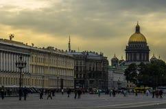 El centro de St Petersburg fotografía de archivo