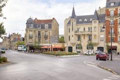 El centro histórico de la ciudad de Reims Fotografía de archivo libre de regalías
