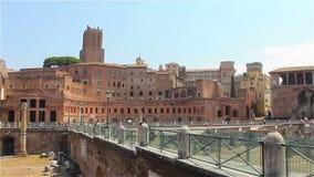 El centro histórico de Roma metrajes