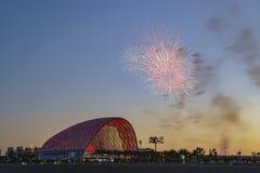 El centro intermodal regional hermoso del tránsito de Anaheim imagenes de archivo