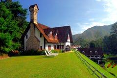 El centro turístico de las montañas de Lakehouse Cameron Fotografía de archivo