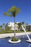 El centro turístico inclusivo y el casino de Royalton situados en el Bavaro varan en Punta Cana Fotografía de archivo libre de regalías