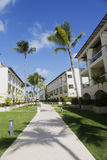 El centro turístico inclusivo y el casino de Royalton situados en el Bavaro varan en Punta Cana Foto de archivo