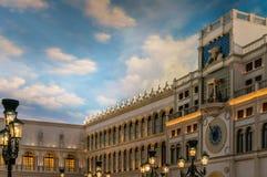 El centro turístico veneciano del hotel en Las Vegas Fotos de archivo