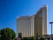 El centro turístico y el casino de la bahía de Mandalay en Las Vegas Imagen de archivo libre de regalías