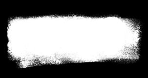 El cepillo animado de la acuarela alinea a Art Titles