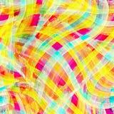 El cepillo colorido de la acuarela frota ligeramente el fondo libre illustration