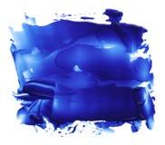 El cepillo de acrílico abstracto del color frota ligeramente manchas blancas /negras Foto de archivo