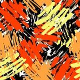 El cepillo de repetición inconsútil de la tinta de la materia textil frota ligeramente el modelo en el garabato g Fotos de archivo