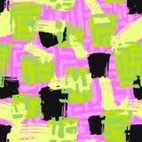 El cepillo de repetición inconsútil de la tinta de la materia textil frota ligeramente el modelo en el garabato g Imagen de archivo