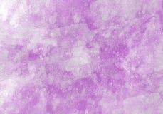 El cepillo del color del gráfico de color de agua de los remiendos frota ligeramente remiendos Foto de archivo libre de regalías