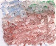El cepillo frota ligeramente aguazo silenciado de los colores libre illustration