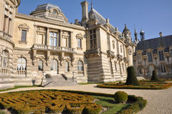 El Château de Chantilly Foto de archivo libre de regalías