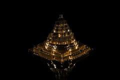 El chakra del meru de la pirámide Imagen de archivo