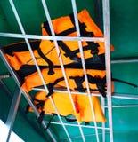 El chaleco salvavidas Imagen de archivo