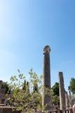 El chalet de Hadrian, chalet del Roman Emperor el ', Tivoli, fuera de Roma, Italia, Europa fotos de archivo