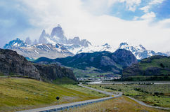 El Chaltén, Patagonia, Argentina Royalty Free Stock Photography