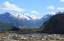 El Chalten, Los Glaciares国家公园,阿根廷 库存照片