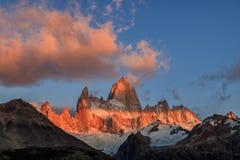 EL Chalten, η μαγική πόλη το φθινόπωρο Η EL Chalten βρίσκεται στην αργεντινή Παταγωνία στοκ εικόνες με δικαίωμα ελεύθερης χρήσης