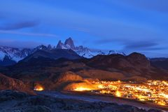 El Chalten and Fitz Roy Stock Photos