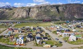 El Chalten village in Argentina. Stock Images