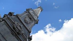 El chapitel poligonal - Nápoles, Italia Imagen de archivo