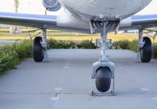 El chasis de los aviones rusos Fotografía de archivo libre de regalías