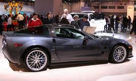 El Chevrolet Corvette 2009 ZR1 Imágenes de archivo libres de regalías