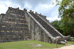 El ¾ ChichenItza Kukulkan del  Ð de Maya Yucatan MexiÑ staden Fotografía de archivo libre de regalías