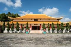 El chino Martyrs el museo conmemorativo del ` en la montaña de Doi Mae Salong de la provincia de Chiang Rai de Tailandia Fotografía de archivo libre de regalías