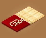 El chocolate con leche fijó 1 Fotos de archivo libres de regalías