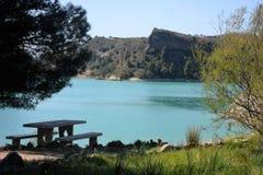 EL CHORRO - φυσικό πάρκο-ARdales Ανδαλουσία Στοκ Εικόνες