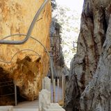 El Chorro-Natural Park-Ardales Royalty Free Stock Photography