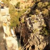 El Chorro-Natural Park-Ardales Royalty Free Stock Photo