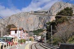 El Chorro railway station Stock Image