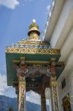 El Chorten conmemorativo nacional situado en Timbu, Bhután Imagen de archivo libre de regalías