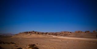 EL chrétien antique Bagawat, oasis de Kharga, Egypte de cimetière images stock